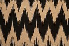 Brown Chevron Jersey Knit Print #156 Rayon Modal Spandex Lycra Fabric BTY