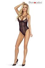 Body ouvert, noir, transparent, elastique, sexy, sensuelle- Provocative Lingerie