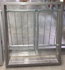 Festverglasung Fertigfensterrahmen Durchblickfenster Fensterzarge 1,1x1,1m MW175