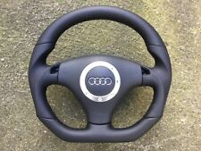 AUDI A3 S3 A4 S4 A6 S6 RS6 C5 TT MK1 TIPTRONIC NEW CUSTOM MADE STEERING WHEEL