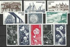 SWEDEN, GOOD SELECTION OF UN-MOUNTED MINT STAMPS FROM 1972.(2).