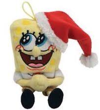 Ty Beanie Babies Jingle Beanies - SpongeBob JollyElf Sponge Bob - New With Tag