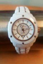 White Ceramic Watch with Sapphire Crystal Face
