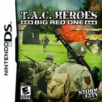 Tac Heroes Big Red One For Nintendo DS DSi 3DS 2DS Strategy Game Only 5E