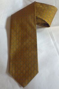Gold and Blue Brooks Brothers Tie