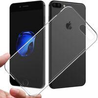 Apple iPhone 8 Silikon-Hülle TPU  transparent Schutzhülle Tasche Schutz Etui WoW