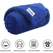 Premium Fluffy Fleece Dog Blanket, Soft And Warm Pet Throw For Dogs &amp Cats
