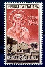 ITALIA 1953 - SANTA CHIARA  NUOVO  **