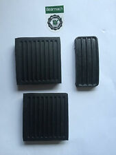 Land Rover Defender 90, 110, 130 Bearmach Pedal Pad Rubbers Set x 3