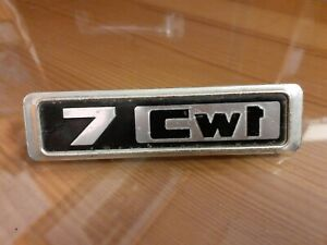 Vintage BMC/BL Morris Marina Van 7 Cwt Metal Badge
