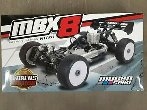 """Mugen Seiki MBX8 """"Worlds Edition"""" 1/8 Off-Road Competition Nitro Buggy Kit E2025"""