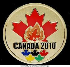 LAPEL PINS 2010 VANCOUVER CANADA GOLD MEDAL AND TORCH