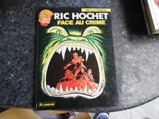 belle reedition ric hochet face au crime.