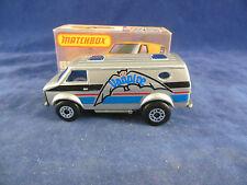 Matchbox Superfast MB - 68 c Chevrolet Van Vanpire in Silver