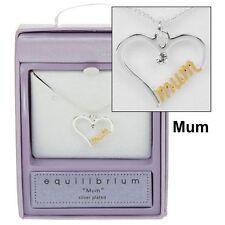 Modeschmuck-Halsketten & -Anhänger aus Kristall mit Diamant und Herz