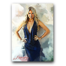 Anna Kournikova #4 Sketch Card Limited 16/50 Edward Vela Signed