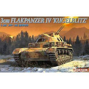 Dragon 6136 3cm Flakpanzer IV Kugelblitz 1/35 scale plastic model kit