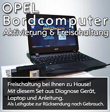 VERSAND - OPEL Bordcomputer Freischaltung Astra, Insignia, Zafira, Vectra, Corsa