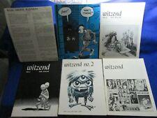 WITZEND #1,2,3,4,8 ( 5 ISSUE LOT 1966-1971)