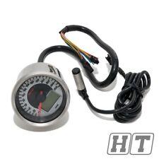 Tachometer Signalleuchten Koso D64 Chrome Style 260kmh mit ABE universal Moped