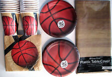 BASKETBALL Fanatic - Birthday Party Supply Pack Kit for 16