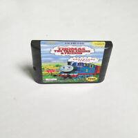 Thomas the Tank Engine & Friends (1993) Game Card Sega Genesis Mega Drive System
