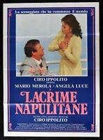 Manifesto Tears Napulitane Mario Merola Angela Light Ciro Ippolito 6499 4/