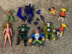 Lot of action figures Scooby Doo She-ra toybiz Marvel MOTU ++ vintage