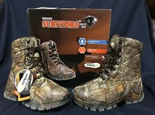 "NIB Herman Survivors 8"" Realtree Waterproof Insulated Hunting Hiking Boots 8W"