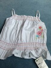 BNWT MOTHERCARE GIRLS STRAPPY GYPSY TOP AGE 5-6 Yrs