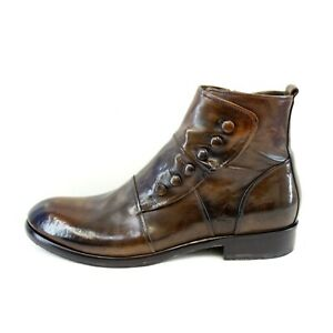 JO GHOST Ladies Ankle Boots Leather Braun Size 41 Np 379 New