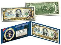 JAMES K POLK * 11th U.S. President * Colorized $2 Bill US Genuine Legal Tender