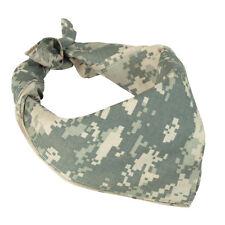 Army ACU DIGITAL CAMO BANDANA - 100% Cotton Camouflage Military Neckerchief