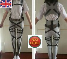 Réglable Attack On Titan Shingeki No Kyojin Cosplay Harnais Ceintures Sangle