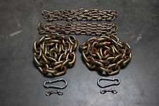 "Weight Lifting Chain Package - 31.2 lbs - 1/2"" Power Lifting - Crossfit Gym"