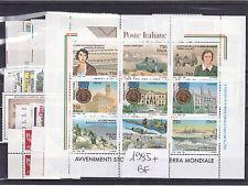 ITALIA REPUBBLICA 1995  ANNATA COMPLETA   54 VALORI+ FOGLIETTO GOMMA INTEGRA
