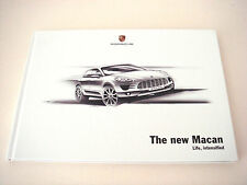 Porsche . Macan . The new Macan . 2013 Sales Brochure