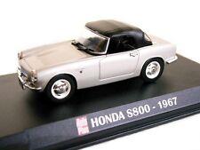 1/43 - IXO  - EN BOITE VITRINE - SUPERBE  HONDA S 800 1967