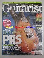 GUITARIST Magazine SEALED Lug 2008 + cd Monte Montgomery Best Ever PRS Paul Utra