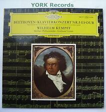 DG 138 777 - BEETHOVEN - Piano Concerto No 5 KEMPFF / LEITNER - Ex Con LP Record