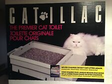Cat-lilac Cat Toilet - FULL SYSTEM Never Change Litter Again