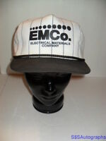 Vintage 1980's EMCO Electrical Materials Company KC Advertising Snap Back Hat