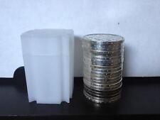 20 tubes neuf stockage pour pièces 38 mm, ideal 10 francs hercule,20fr turin,écu