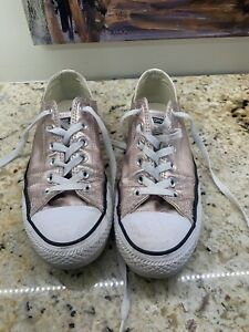 Converse All Star Women's Shoes Shimmer Pink Size 9