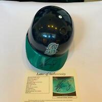 Ken Griffey Jr. Signed Authentic Seattle Mariners Game Model Helmet JSA COA