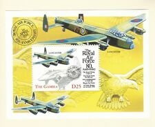 Gambia 1998 Royal Air Force - Lancaster - Mint lightly hinged on card (P26)