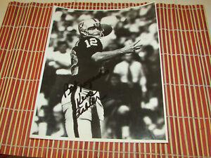Ken Stabler Oakland Raiders HOF 2016 Autographed Auto Signed 8x10 Photo