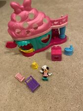 Fisher Price Minnie Mouse Bow-tiful Bake Shop Playset Excellent Condition