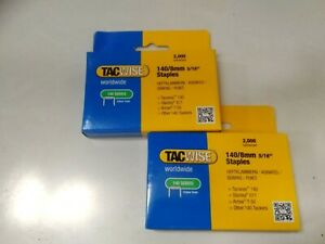 Tacwise 140 series staples 8mm