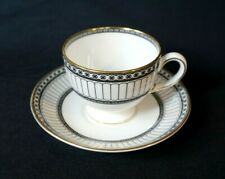 Beautiful Wedgwood Colonnade Black Cup And Saucer